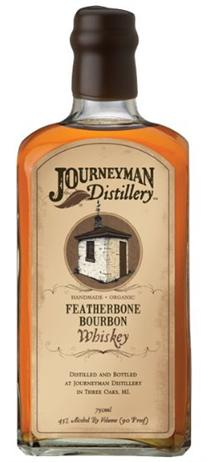 Journeyman Distillery Whiskey Featherbone Bourbon